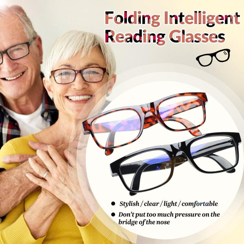 Folding Intelligent Reading Glasses