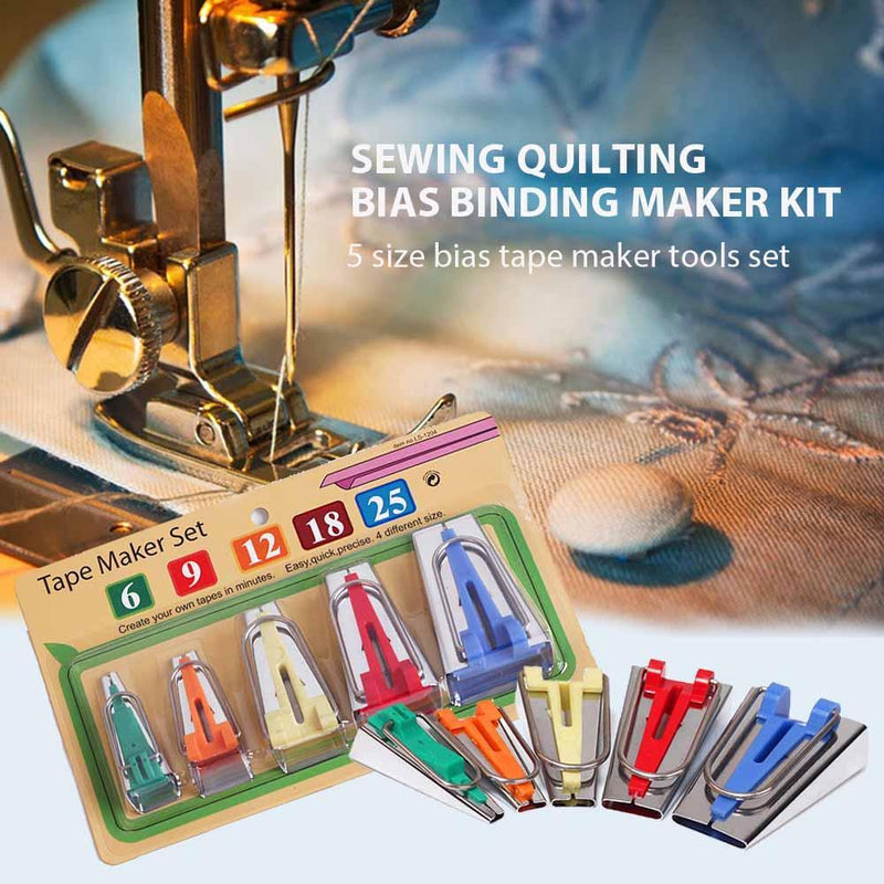 Sewing Bias Tape Maker Set