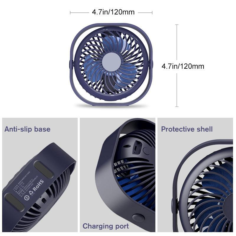 Portable Desktop Table Cooling Fan