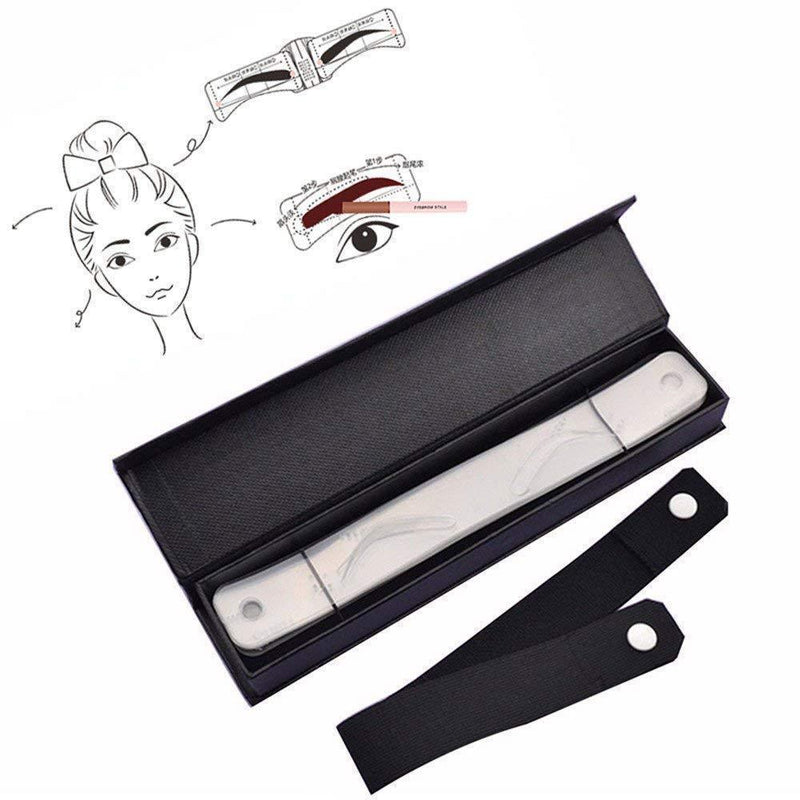 Eyebrow Stencils With Head Strap