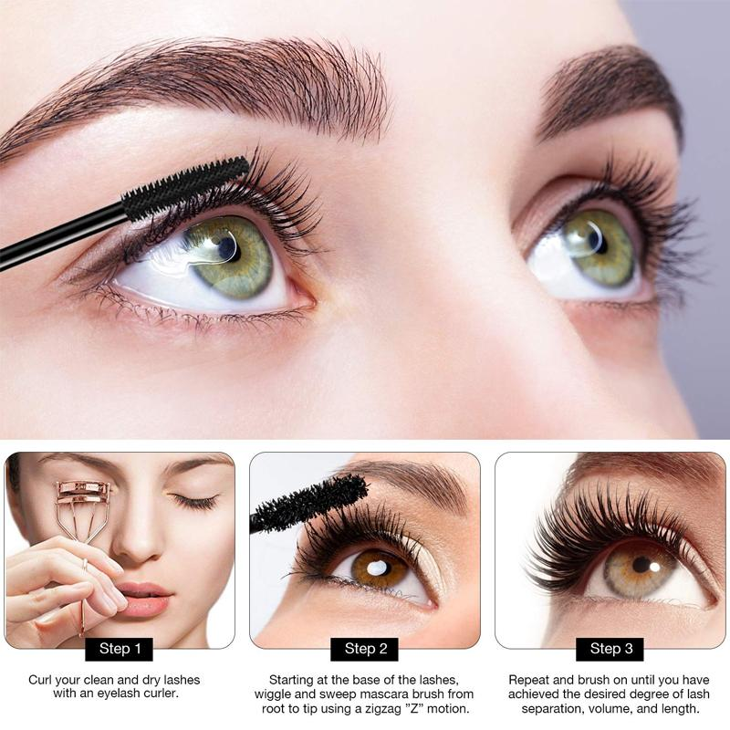 Waterproof Silk Fiber Thick Mascara