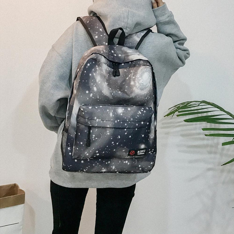 Stylish Galaxy School Backpack