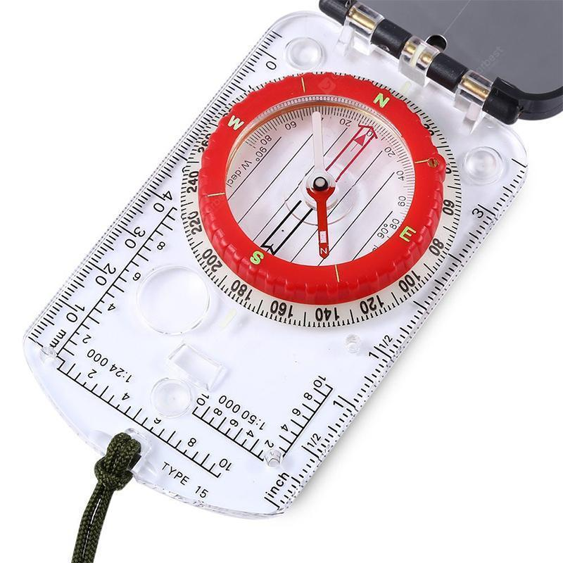 Multi-Functional Outdoor LED Compass