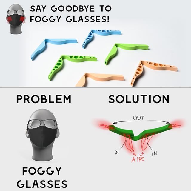 Fog-Free Accessory-Prevent Eyeglasses From Fogging