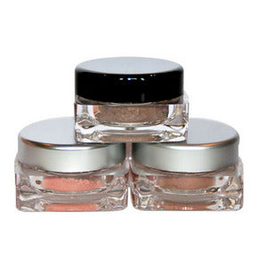 Crushed Eye Shadow-Shaker Jar 2 gram   6 Colors