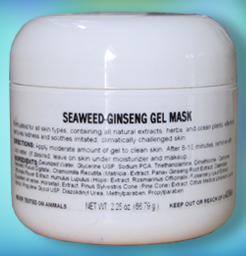 Seaweed Ginseng Gel Mask 2.5 oz.