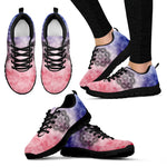 Tie-Dye Magic - Black Sole Sneakers