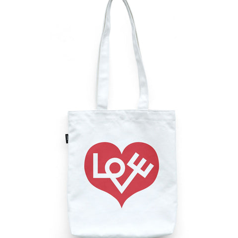 Love Heart Bag, Red