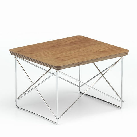 Copy of Eames LTR Occasional Table, Wooden / Veneer Top
