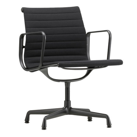 Eames Aluminium Group Chair EA 108 - Deep Black Base