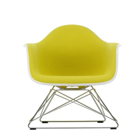 Eames Plastic Armchair LAR with full upholstery