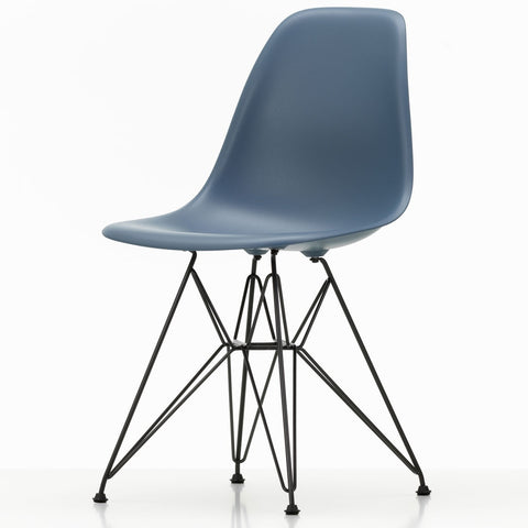 Eames Plastic Side Chair DSR - Base Basic Dark or White Powder-Coated