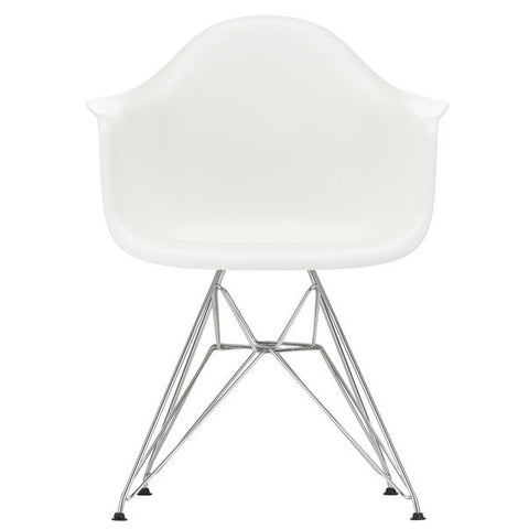 Eames Plastic Armchair DAR - Base Chrome