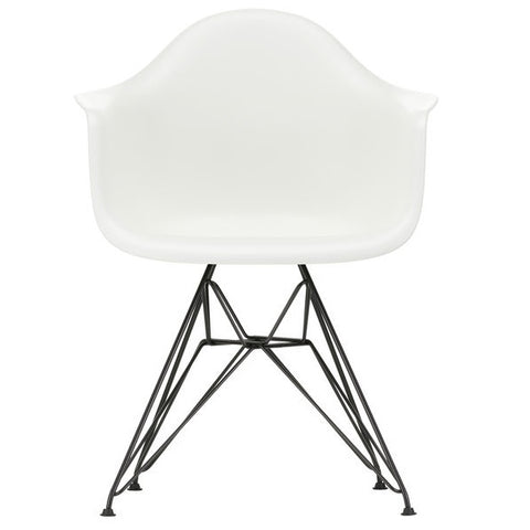 Eames Plastic Armchair DAR - Base Basic Dark or White Powder-Coated