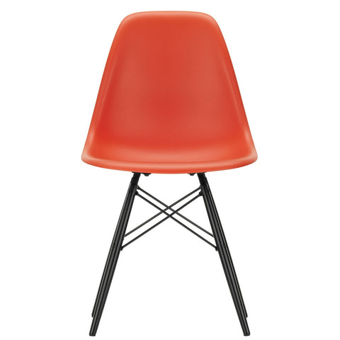 Eames Plastic Side Chair DSW - Base Maple