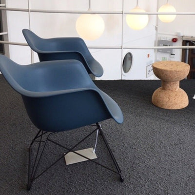 SALE Eames Plastic Armchair LAR Sea Blue