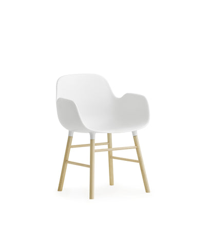 Form Armchair Miniature White