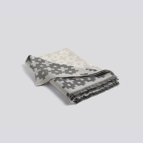 Plus 9 Grey Throw