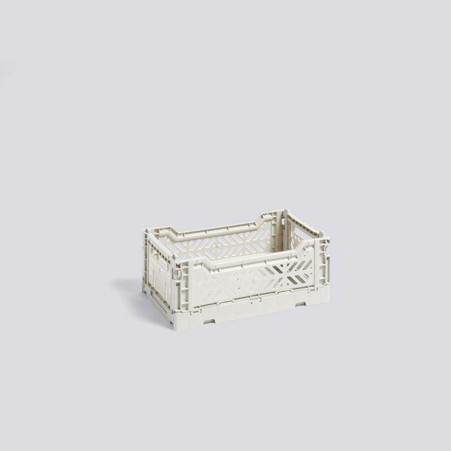 Light Grey Colour Crate Small