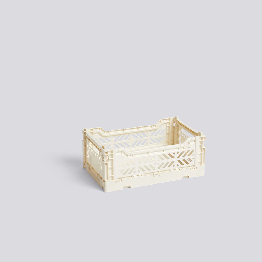 Off White Colour Crate Small