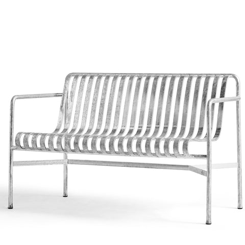 Palissade Dining Bench Hot Galvanised