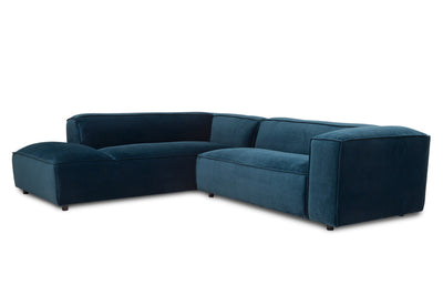 Dunbar Corner Sofa: with 2 Seat Arm Right & Long Chair Left