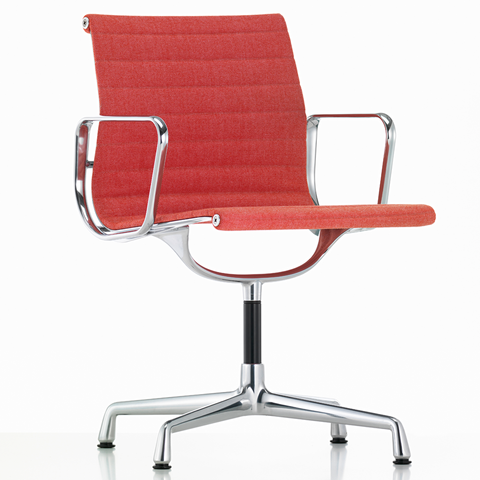 EA 104 Eames Aluminium Group Chair