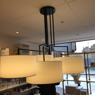 Noon 5 Pendant Ex Display Lamitex Shades