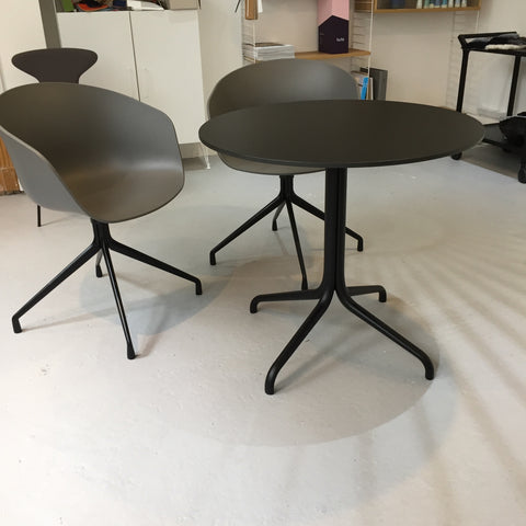 SALE VITRA Belleville Table Black Outdoor - Ex Display