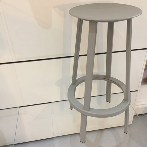 SALE HAY Revolver High Bar Stool Grey - Ex Display