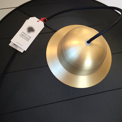 Aura Black Large Pendant Light