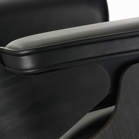 Eames Lounge Chair & Ottoman Black Edition