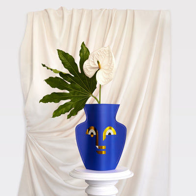 Paper Vase Apollo (Double Sided)