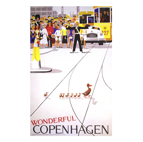Wonderful Copenhagen Poster 70 x 50cm