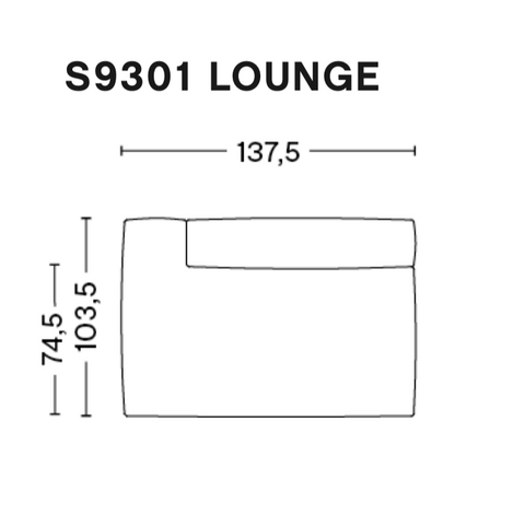 Mags Soft Module S9301 / Lounge