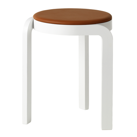 Spin Stool upholstered seat