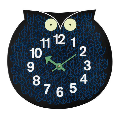 Omar the Owl Wall Clock