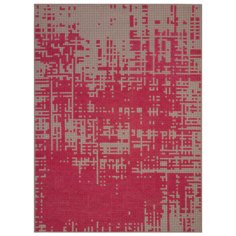 Abstract Canevas Rug