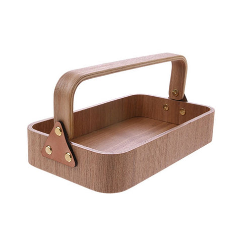 Willow Wooden Box 1 Handle