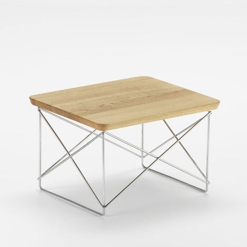 Eames LTR Occasional Table, Wooden / Veneer Top