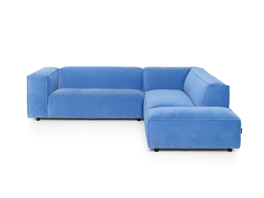 Dunbar Corner Sofa: with 1.5 Seat Arm Left & Long Chair Right