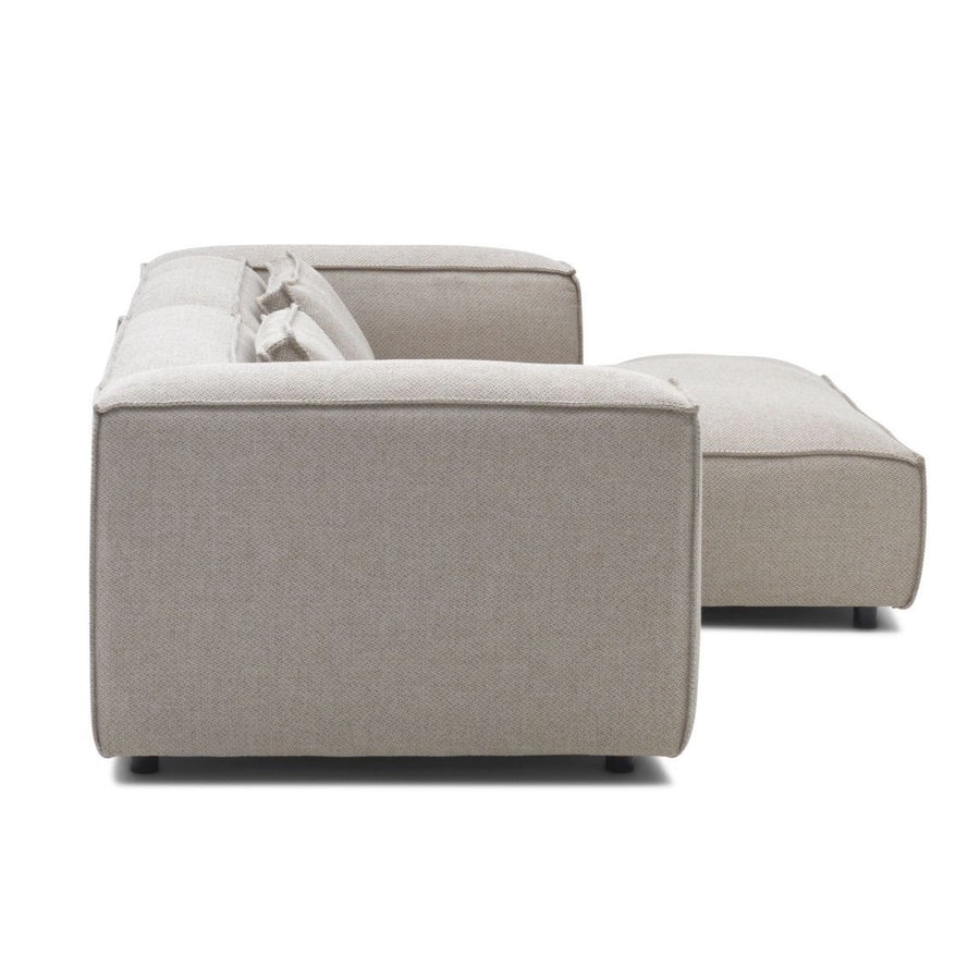 Dunbar Sofa: with 1.5 Seat Arm Left & Divan Arm Right