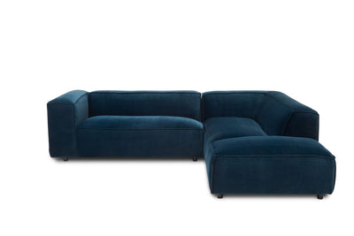 Dunbar Corner Sofa: with 2 Seat Arm Left & Long Chair Right