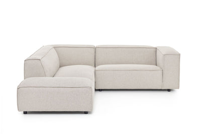 Dunbar Corner Sofa: with 1.5 Seat Arm Right & Long Chair Left