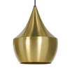 Beat Fat Brass Pendant