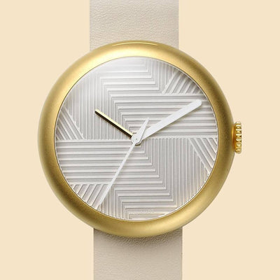 Gold Objest Hach Watch - 50% OFF