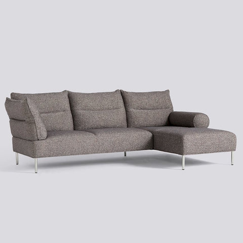 Pandarine 3 Seater Chaise Longue Mixed Armrests Right