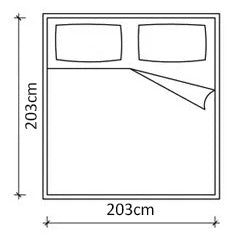 California king size mattress dimensions