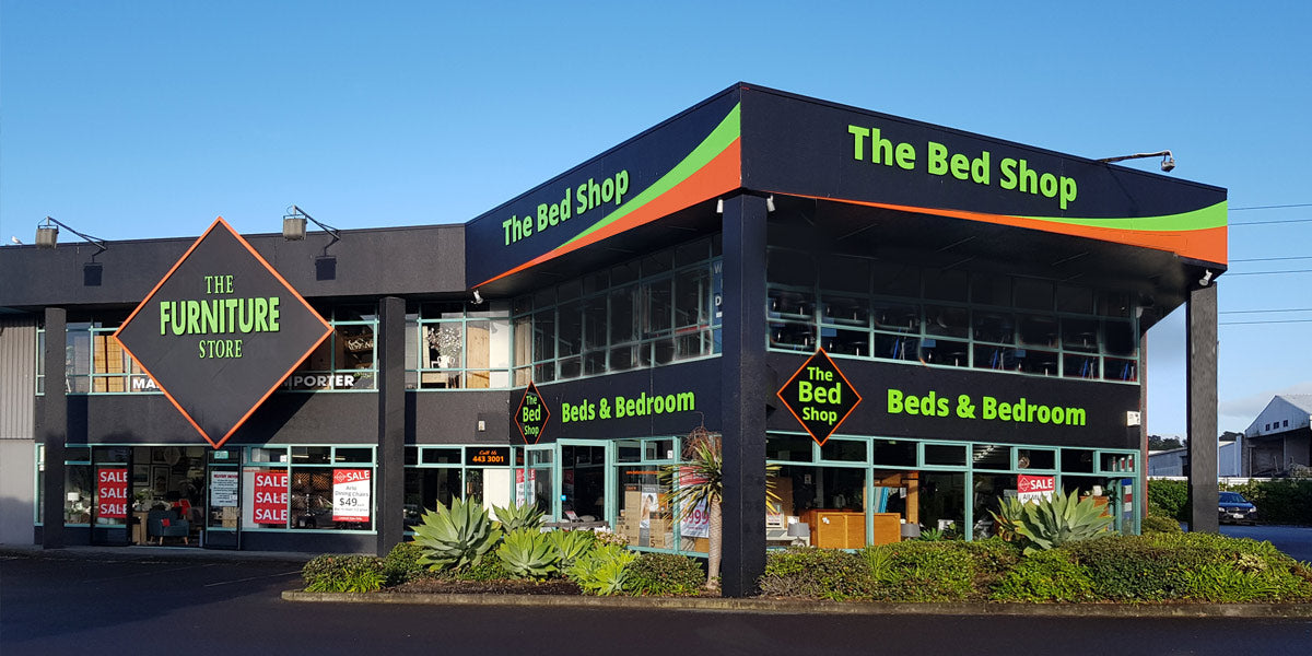 the bed shop wairau