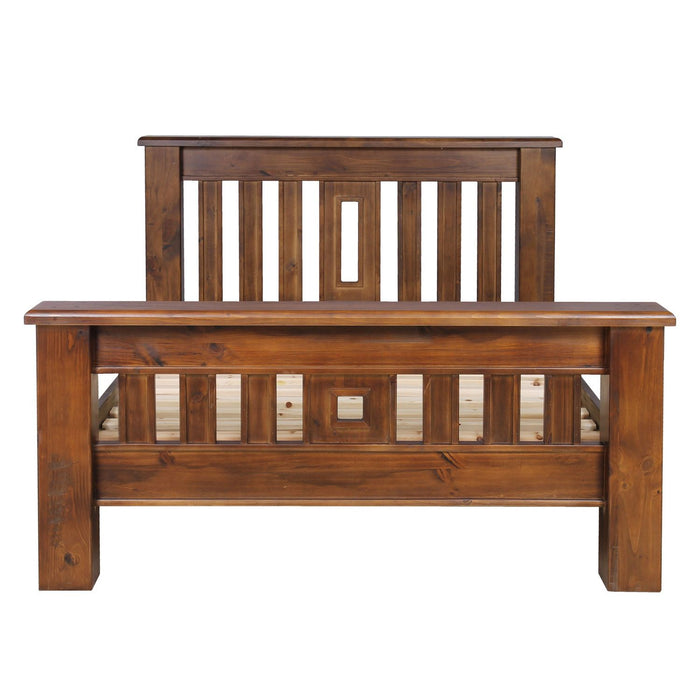 traditional wooden bed frame Fleetwood Collection The Bed Shop